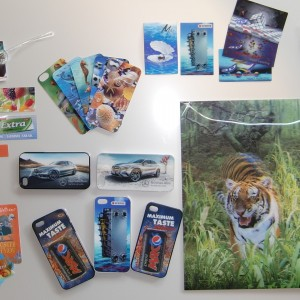 3D Lenticular products